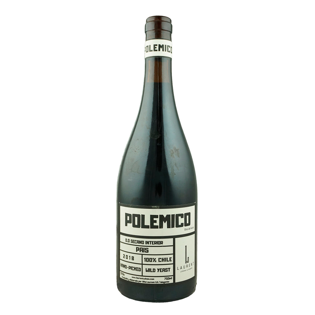 Polemico País, Viña Laurent, 13% Itata Valley, Chile