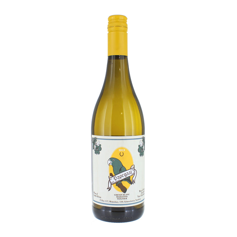 A Badenhorst Papegaai White Blend 2018 – Swartland, South Africa – 12.5%