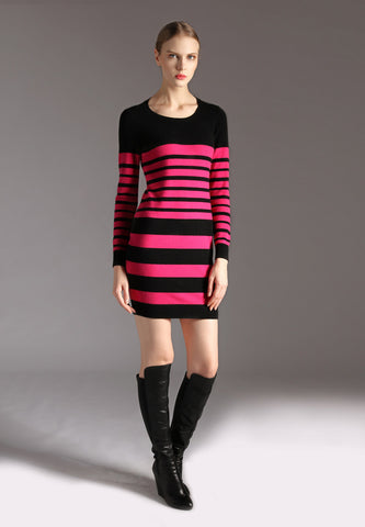 Ladies Striped One-piece