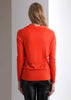 women's cowl neck fine cashmere sweate pullover