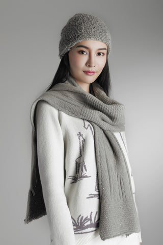 Cashmere hat / Scarf