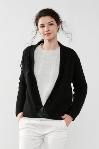 Hand-sewn cashmere coat