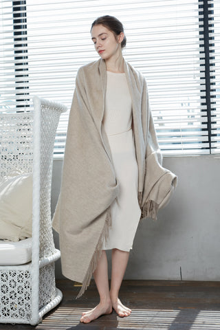 Cashmere scarf/ throw