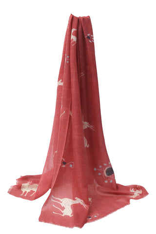 Duhuang printed cashmere shawl