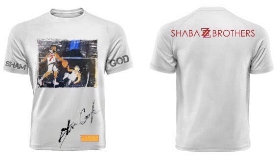 Icons Of The Culture series t-shirt by Steve Cogle x Shabazz Brothers featuring God Shammgod