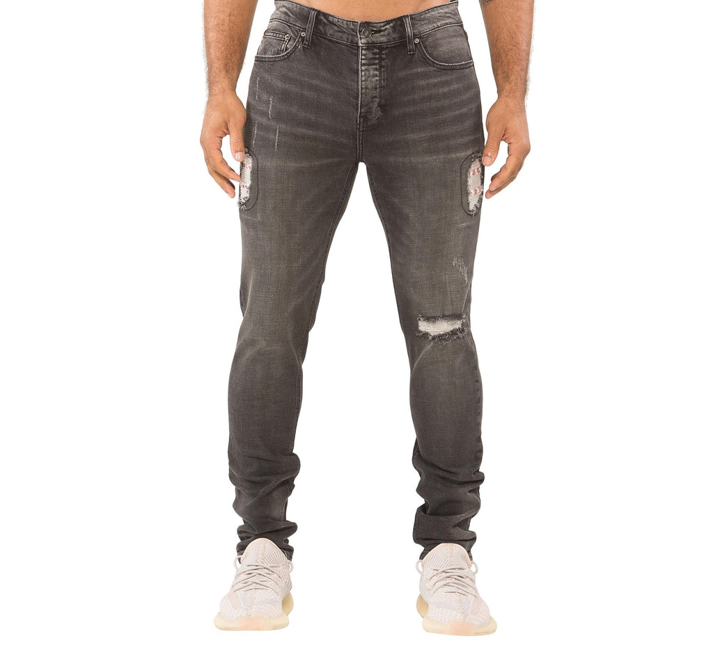SANTORINI JEAN - BLACK WASH
