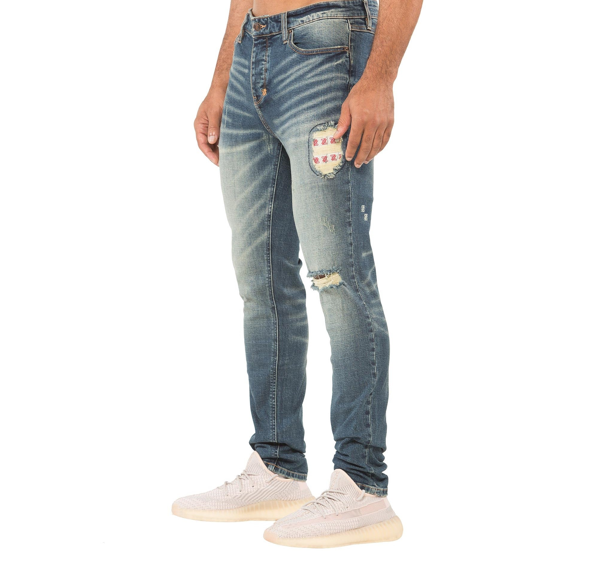 SANTORINI JEAN - DARK WASH