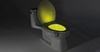 8-Color LED Sensored Toilet PotLight - 99 SANTA