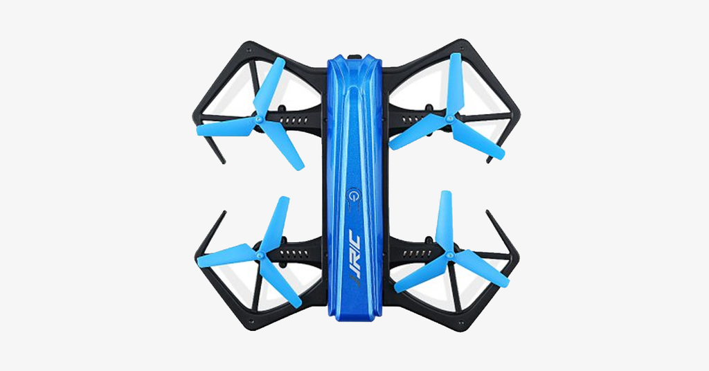 Blue Mini Selfie Foldable Drone