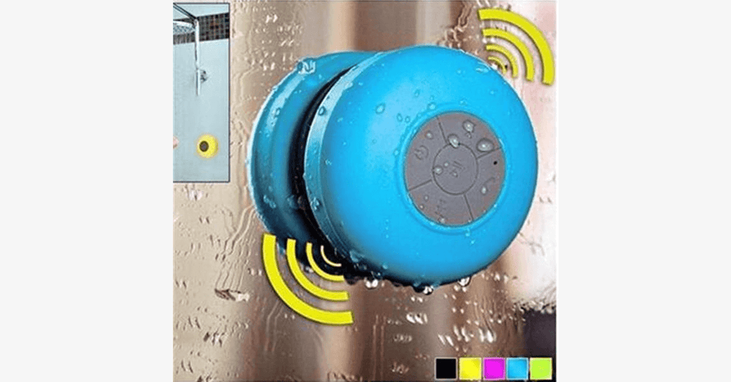 Bluetooth Shower Speaker - 99 SANTA