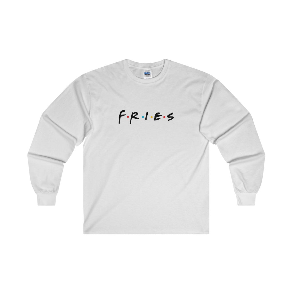 Friends Fries Long Sleeve Tee
