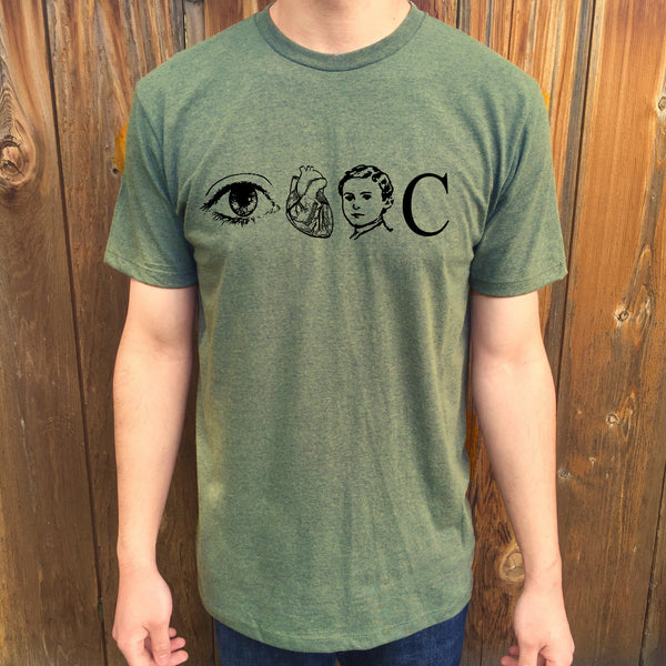 Eye Heart Boy C Unisex T-Shirt