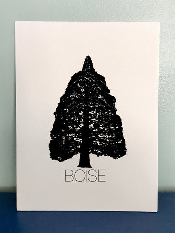 Boise Sequoia Canvas Print