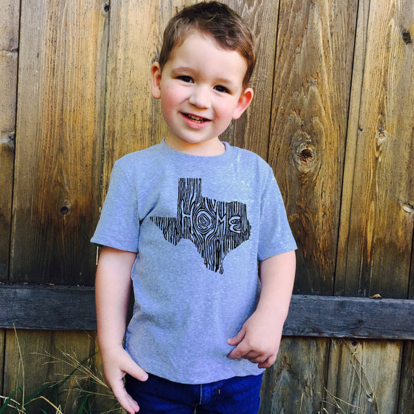 Kids Texas Ingrained State T shirt