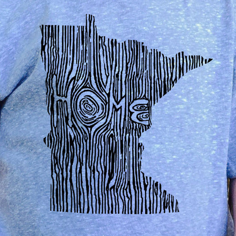 Kids Minnesota Ingrained State T shirt