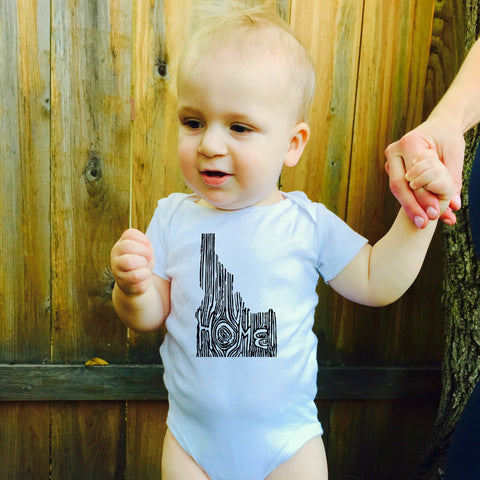 Ingrained Idaho Baby bodysuit