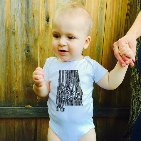 Ingrained Alabama Baby bodysuit