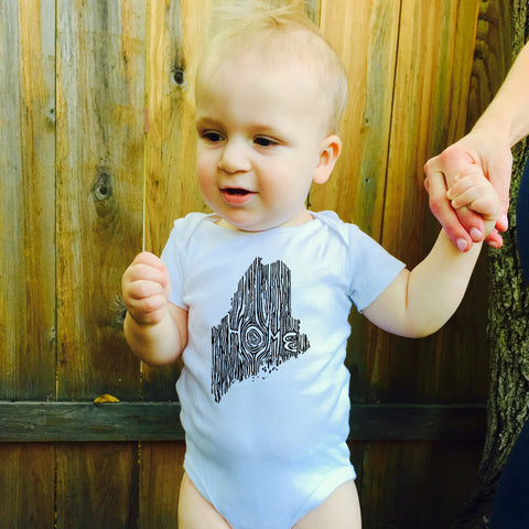 Ingrained Maine Baby bodysuit