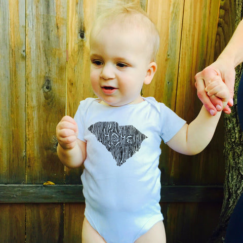 Ingrained South Carolina Baby bodysuit