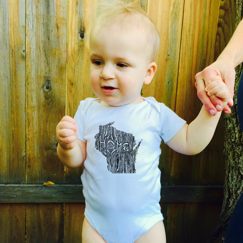 Ingrained Wisconsin Baby bodysuit