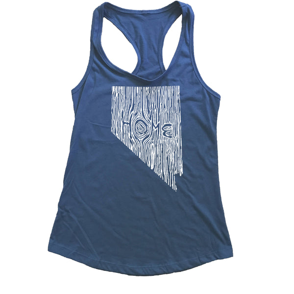 Nevada Ingrained State Women's Racerback Tank Top