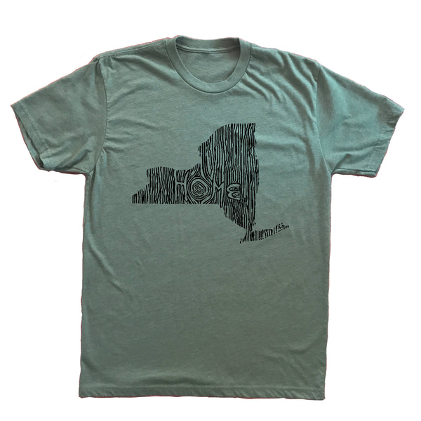 New York Ingrained State Unisex TShirt