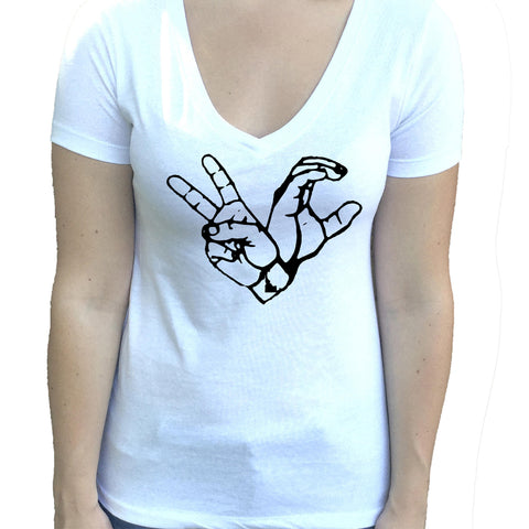 2C Idaho Women's V-Neck Shirt