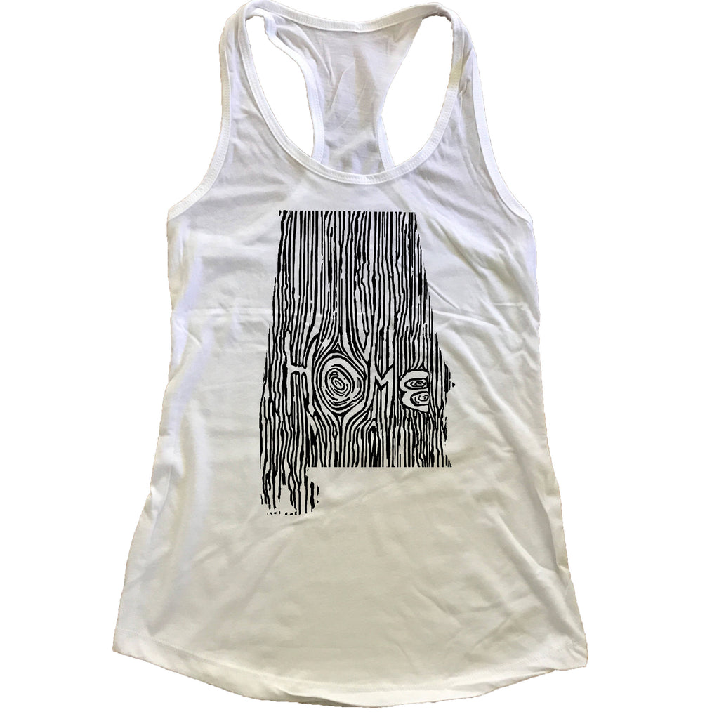 Alabama Ingrained State Women's Racerback Tank Top