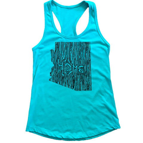 Arizona Ingrained State Women's Racerback Tank Top