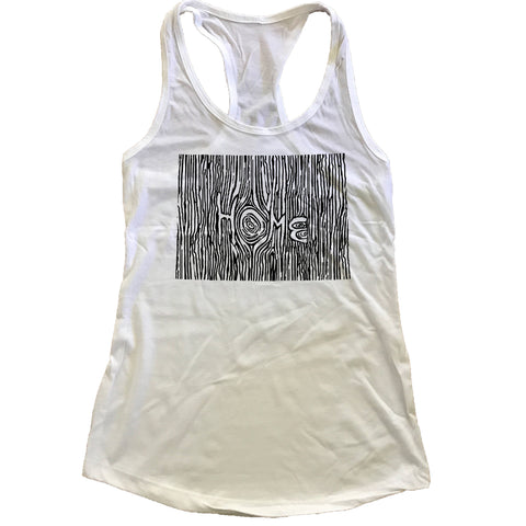 Colorado Ingrained State Women's Racerback Tank Top