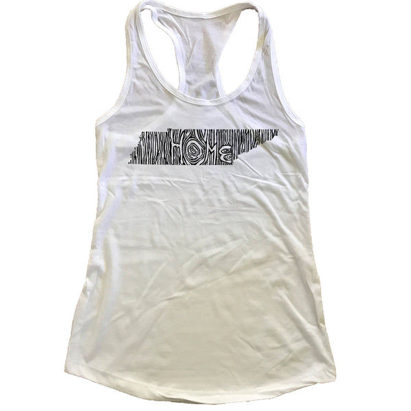 Tennessee Ingrained State Women's Racerback Tank Top