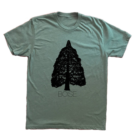 Boise Idaho Sequoia Unisex Shirt