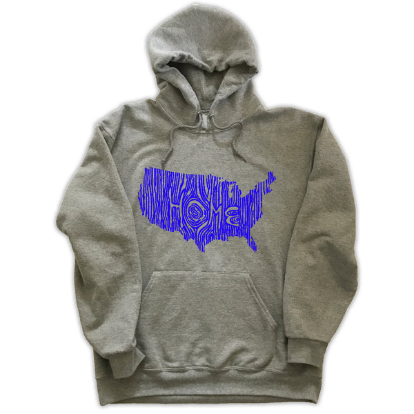 Wyoming Ingrained State Hoodie Sweatshirt