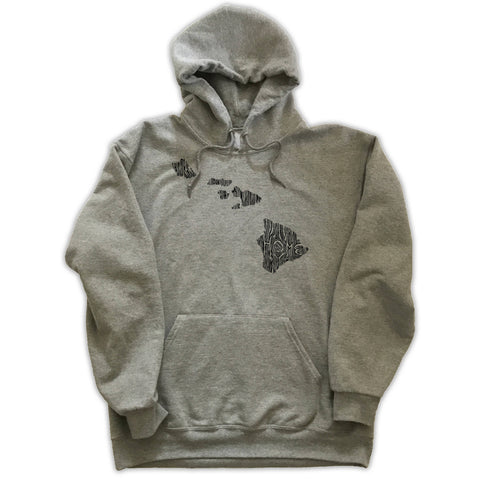 Hawaii Ingrained State Hoodie Sweatshirt