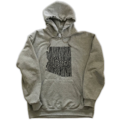 Arizona Ingrained State Hoodie Sweatshirt