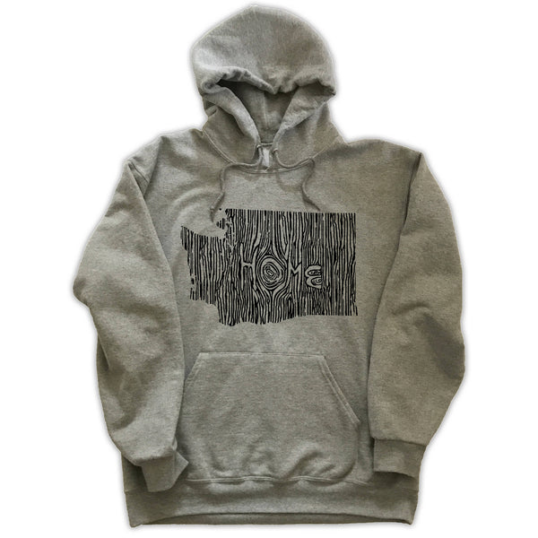 Washington Ingrained State Hoodie Sweatshirt