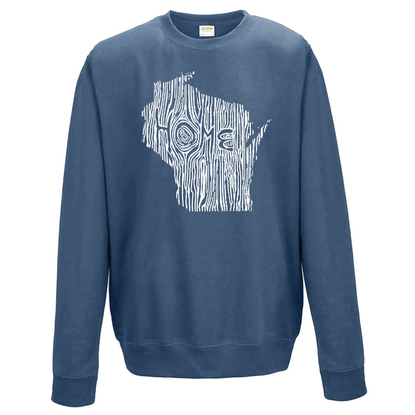 Wisconsin Ingrained State Crewneck Sweatshirt