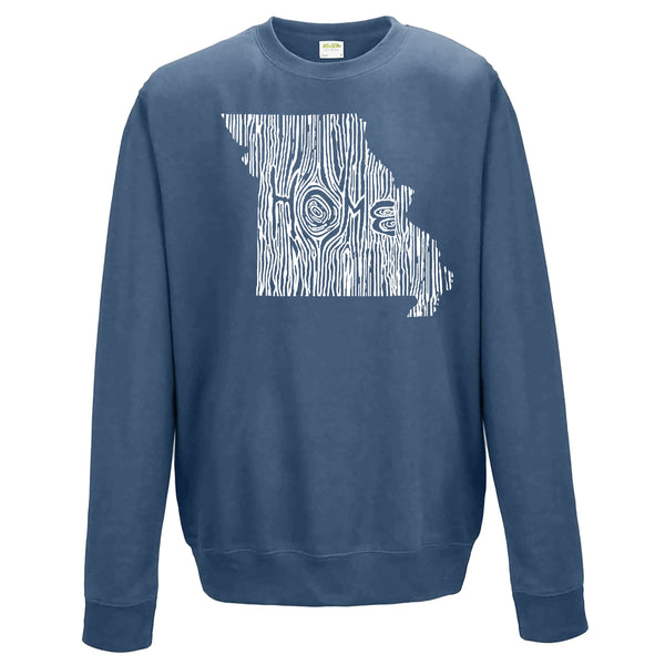 Missouri Ingrained State Crewneck Sweatshirt