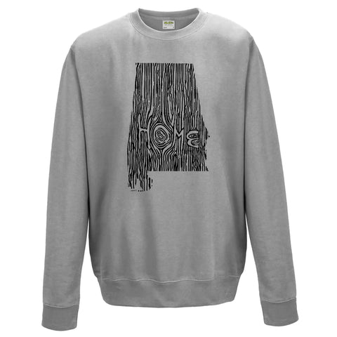 Alabama Ingrained State Crewneck Sweatshirt