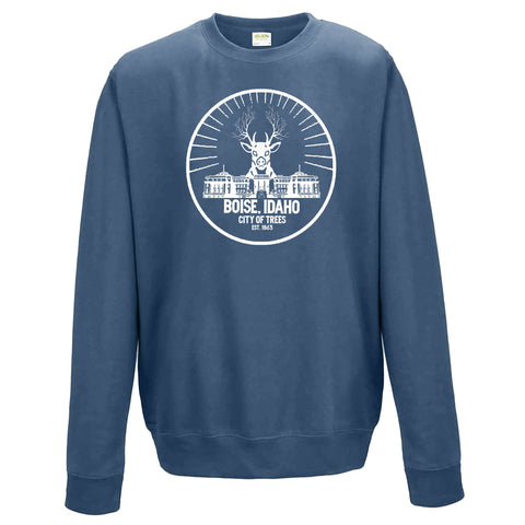 Boise Idaho One Buck Unisex Crewneck Sweatshirt