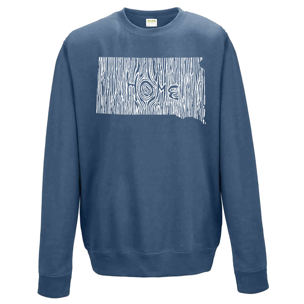 South Dakota Ingrained State Crewneck Sweatshirt