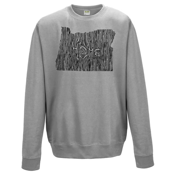 Oregon Ingrained State Crewneck Sweatshirt