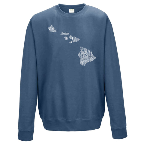 Hawaii Ingrained State Crewneck Sweatshirt