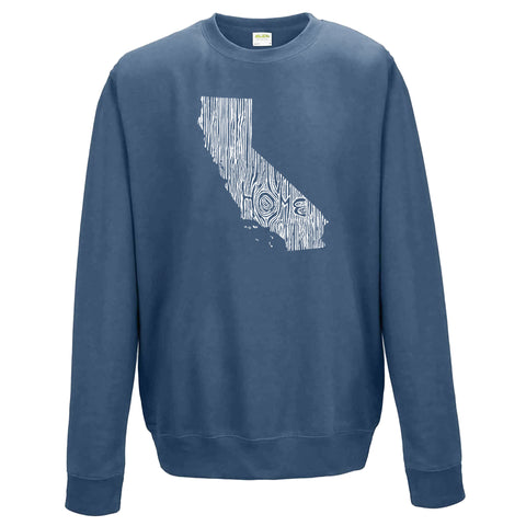 California Ingrained State Crewneck Sweatshirt