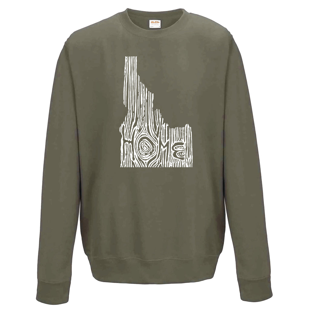Idaho Ingrained State Crewneck Sweatshirt
