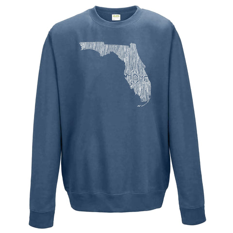 Florida Ingrained State Crewneck Sweatshirt