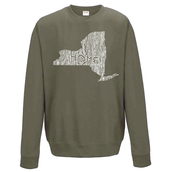 New York Ingrained State Crewneck Sweatshirt