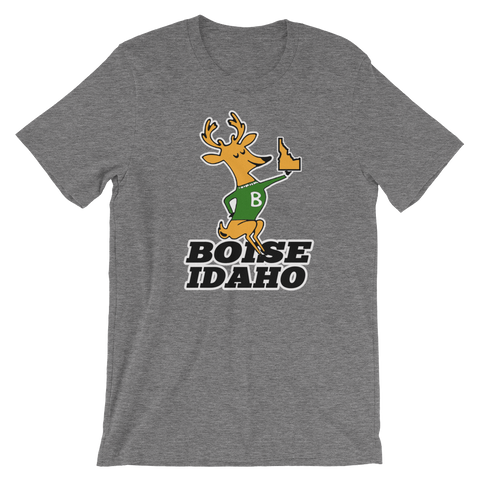 Boise Idaho Buck Retro Unisex T-shirt