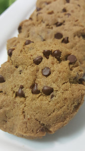 Gluten Free, Non-Dairy and Non GMO Chocolate Chip Cookies
