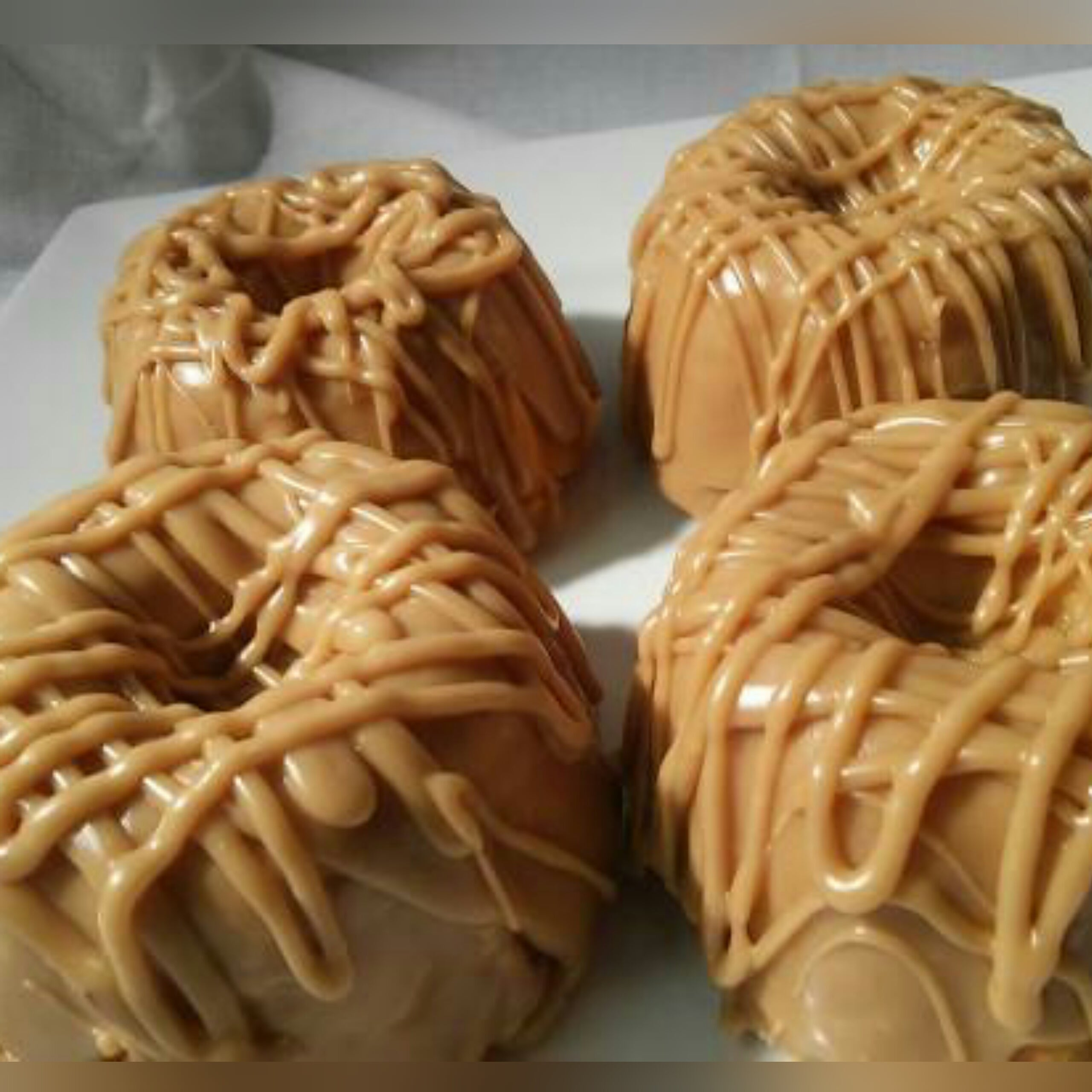 Caramel Obsession Cakes- 4 Individual Personal Cakes